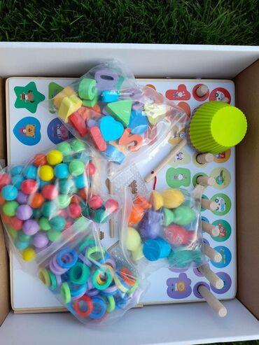 Za razvoj decije motorike i logistike,ucenje boja,brojeva i jos mnogo