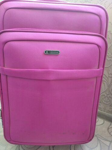Продаю чемодан 60х50( 23 глубина) розового цвета на замке. 2500 сом