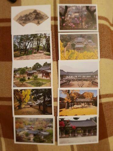 Открытки Сувон (Ю.Корея)  2 пачки (в каждой по 10шт.)