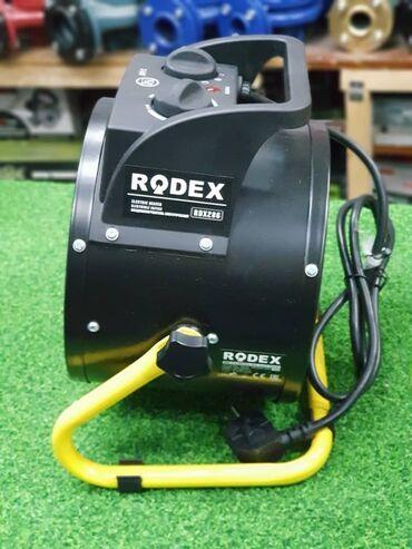 Тепловая электрическая ПУШКА Производитель: RODEX Состояние: Новое Стр