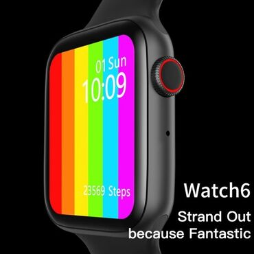 Смарт-часы watch 6+ это стильный аксессуар, наделенный широким