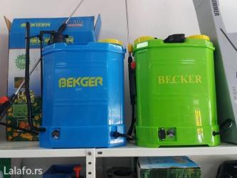 Instrumenti   Kraljevo: Prskalica leđna baterijska 16 becker nova!!! Model: spdp1prskalica