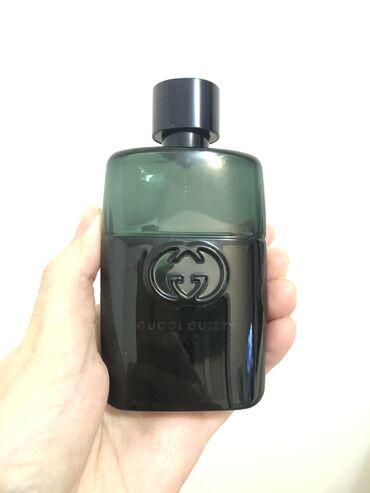 туалетная вода kaori в Кыргызстан: Мужская туалетная вода gucci guilty black 30ml (original)