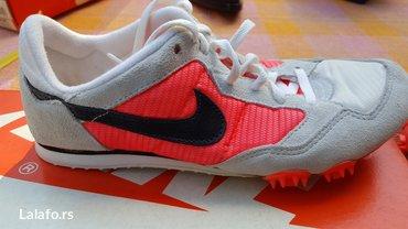 Nike, sprint patike broj 40.5 (25.5cm). Nosene 2 puta, u odlicnom - Beograd