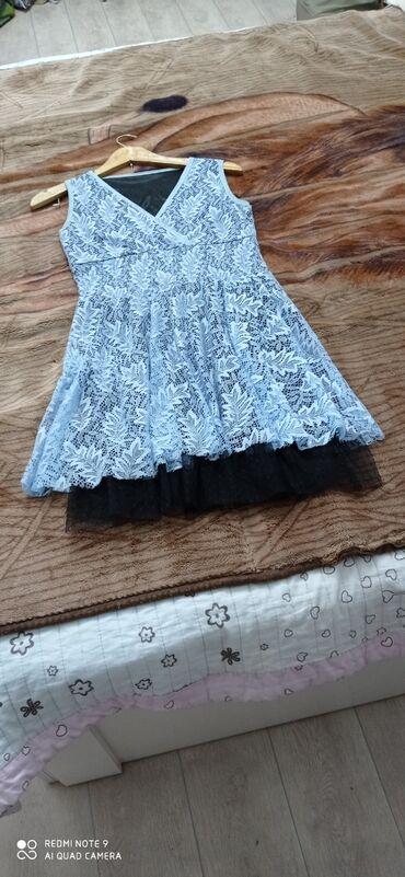 Новое гипюровое платье, размер 44-46