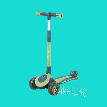 Детский трёхколёсный самокатTech Team Buggy 2021Для детей от 3х - до 7