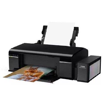 услуги 3д принтера в Кыргызстан: Epson l805. принтер 6 цветова4 формат. новые