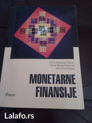 Monetarne finansije, Prof. dr Aleksandar Živković, Prof. dr Milenko - Novi Sad