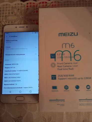 meizu m6 16gb grey в Кыргызстан: Продаю в Кара- Балте телефон мейзу m6. ПИШИТЕ СООБЩЕНИЯ ПО РУССКИ. В