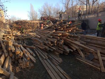 Продаю лес 5х10 и 10х10 , фанера (резанная) в Бишкек