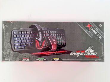 yto 404 satisi - Azərbaycan: ◇Model/Marka|Xtrike Me CM-404 Gaming Set Mouse,Keyboard,Mouse pad