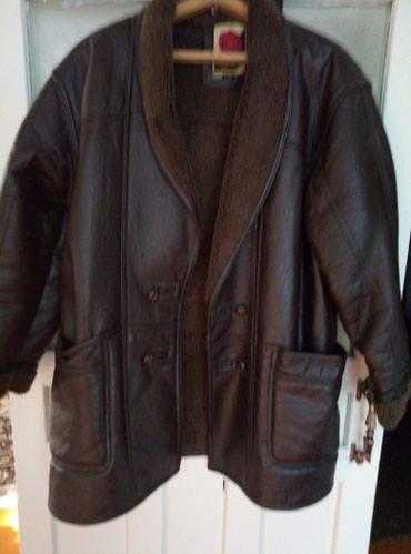 Куртка мужская дублёнка 52-54 размер в Балыкчи