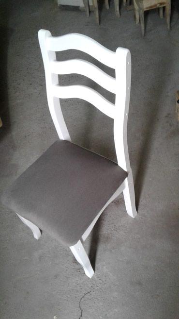 Белый стул нов. кач. в Бишкек