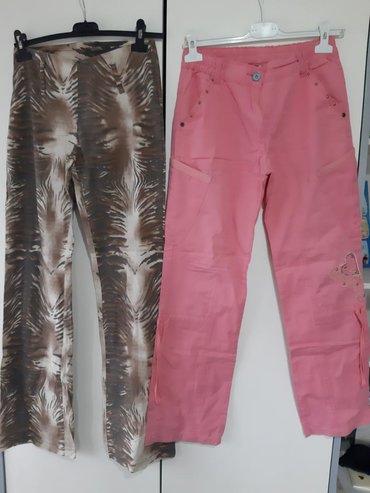 Zenske pantalone broj mis boja - Srbija: Zenske pantalone dva para 1300 din Broj 40