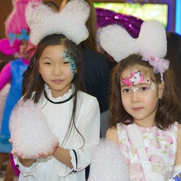 шоколадный фонтан в Кыргызстан: Аквагрим на детский праздник! А также : аниматоры, фотограф, пузыри