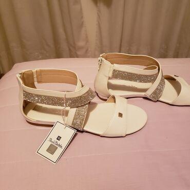 Kozne Renato Balestra sandale br.39. Prelepe i preelegantne sandale ku