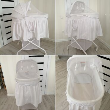 Детский слипик - Кыргызстан: Продаю детскую люльку кроватку для малышей в хорошем состоянии Рекомен