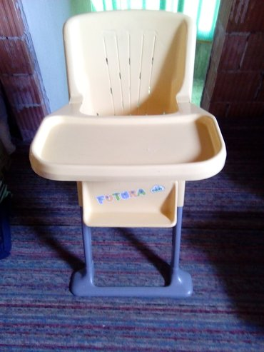 Stolica za hranjenje, u dobrom stanju, bez podloge za sedenje - Beograd
