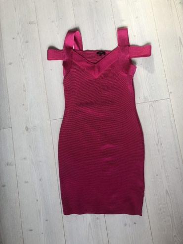 Haljina st - Srbija: Nova haljina,iz Amerike,wow coture marka,ide skroz uz telo,M velicina