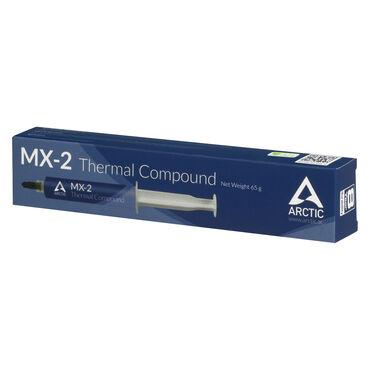 Термопаста Arctic Cooling MX-2 Бренд - Arctic GmbH.Маркировка - Arctic