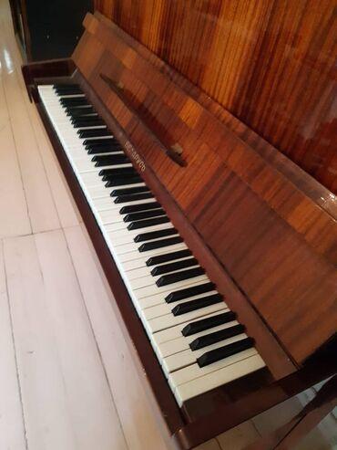 27 elan | İDMAN VƏ HOBBI: Təmiz avanqartdır fortepianodur heç bir problemi yoxdur qiymət 500