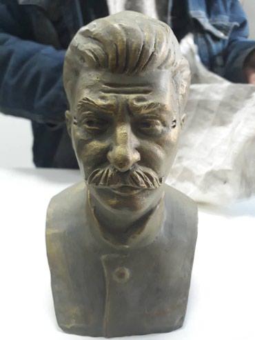 Статуетка Сталина (красная глина высшего качества) в Бишкек