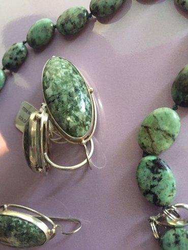 Продаю серебрянные комплект 18р  в Бишкек