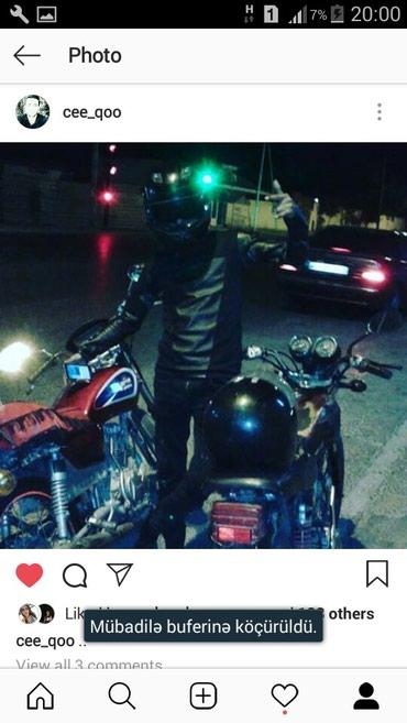 Bakı şəhərində Arenda Moto Lazmdi Gundeliy pulun Verecem