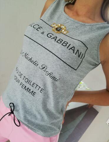 Ženska odeća - Beograd: Majica extra kvalitet Dolce Gabana Vel S M