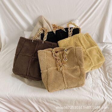 Меховые сумочки тренд 2021