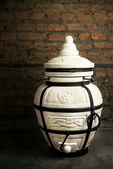 """Тандыр """"Есаул""""Изготовлен из шамотной глины.Толщина стенки 5см.Высота"""