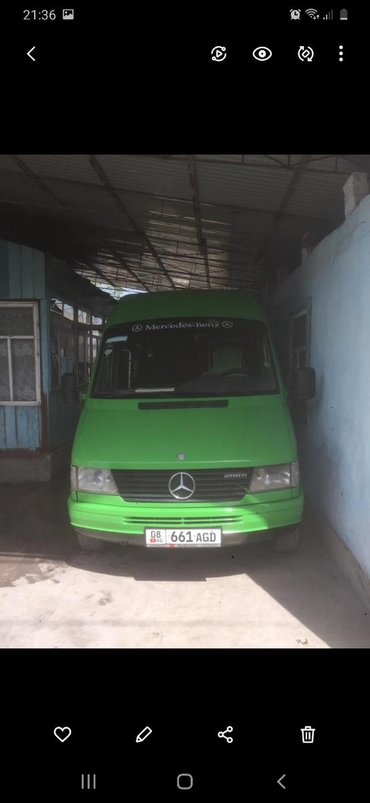 Mercedes-Benz в Кара-Балта: Mercedes-Benz Sprinter 2.9 л. 1995 | 150 км