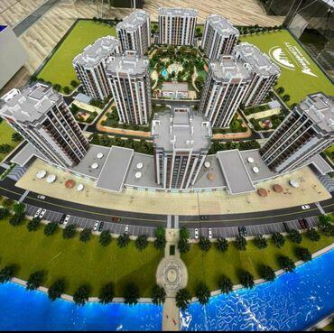 авангард стиль цены на квартиры in Кыргызстан | ПРОДАЖА КВАРТИР: Элитка, 3 комнаты, 131 кв. м Видеонаблюдение, Лифт, Сквозная планировка
