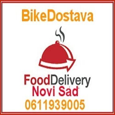 Dostava hrane - Srbija: Dostava Hrane Novi Sad - Bike Dostava Novi Sad,Vršimo dostavu hrane (