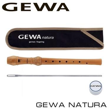 Флейты - Бишкек: Флейта GEWA Natura C Блок-флейта сопрано, клен, немецкая система /