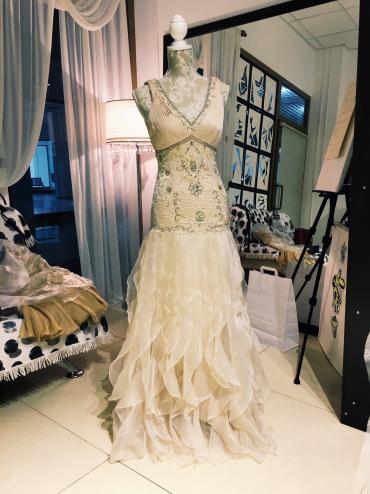 Свадебные платья и аксессуары - Кыргызстан: Платье американского диазйнера Sue Wong. Вышывка ручной работы
