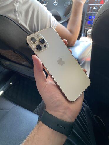 IPhone 12 Pro Max   128 GB   Qızılı Yeni   Zəmanət, Simsiz şarj, Face ID