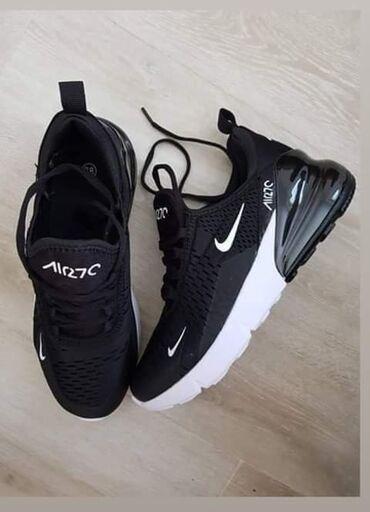 Crno bele Nike 270 Letnji hit model Brojevi: 45 Cena 3100 din. K