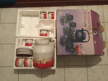 Чайный сервиз: чайник термос с в Бишкек