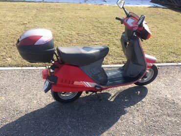 Мотоциклы и мопеды - Кыргызстан: Скутер Honda 50 см2 с Германии права что бы ездить не нужны Чистый я