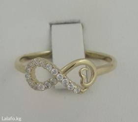 красивое кольцо из красного золота 585проба в Бишкек