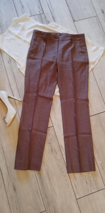 Pantalone struk duzina - Srbija: Pantalone prelepe made in croatia. Naznacena velicina 40. Struk 40cm