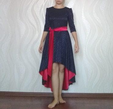 Платье теплое на осень . в Токмак