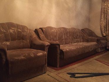 Продаю мягкую мебель. Диван и два в Кок-Ой