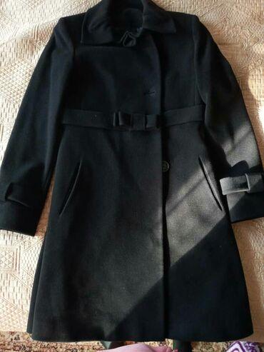 Продаю черное кашемировое пальто. Турция. Состояние отличное. Носила п