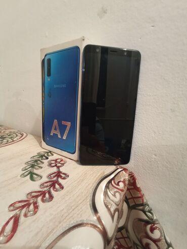 Б/у Samsung Galaxy A7 2018 64 ГБ Синий