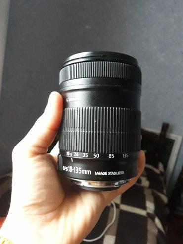 Bakı şəhərində Canon zoom lens EF-S 18-135mm 1;3,5-5,6 lS