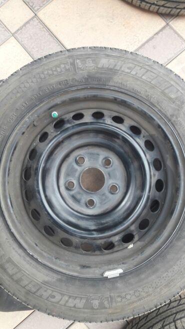 Автозапчасти и аксессуары - Джал мкр (в т.ч. Верхний, Нижний, Средний): Диски 2 штуки R16. Разболтовка 5×114. С тойоты камри 50. Целые не