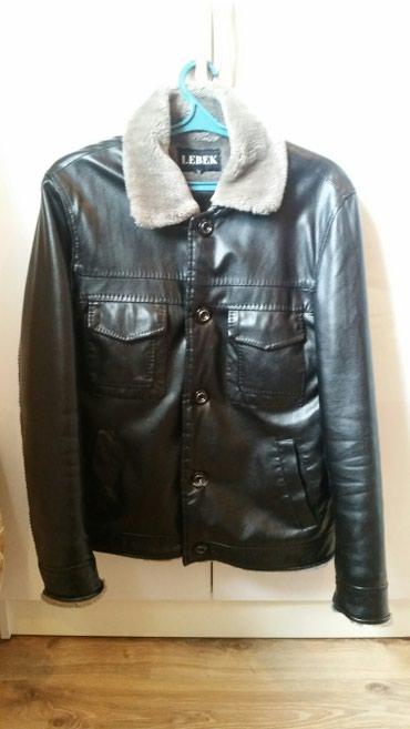 Куртки - Кок-Ой: Кожанная зимняя куртка, покупал в России, одевал только пару раз