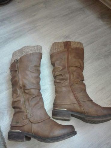 Rikerove cizme..38 -39broj...unutra nalozene pravom vunom,nosene samo - Valjevo